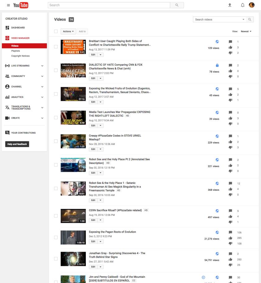 AONU Video list